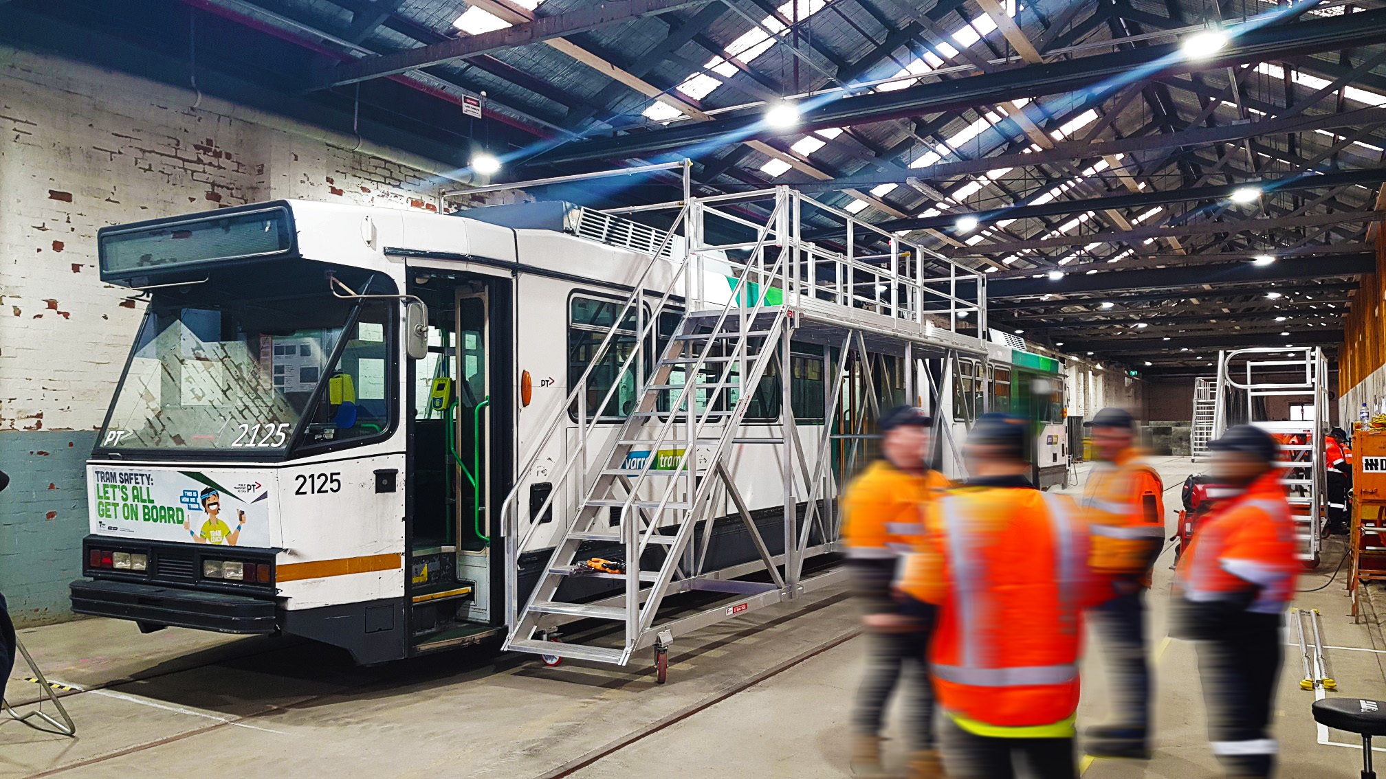 Melbourne Tram Refurbishment Gets a SafeSmart Lift