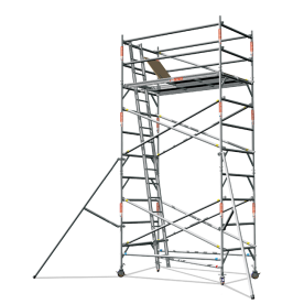 Aluminium Scaffold Tower – Double Width Professional Series