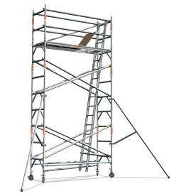 Aluminium Scaffold Tower - Single Width (Premium Series)