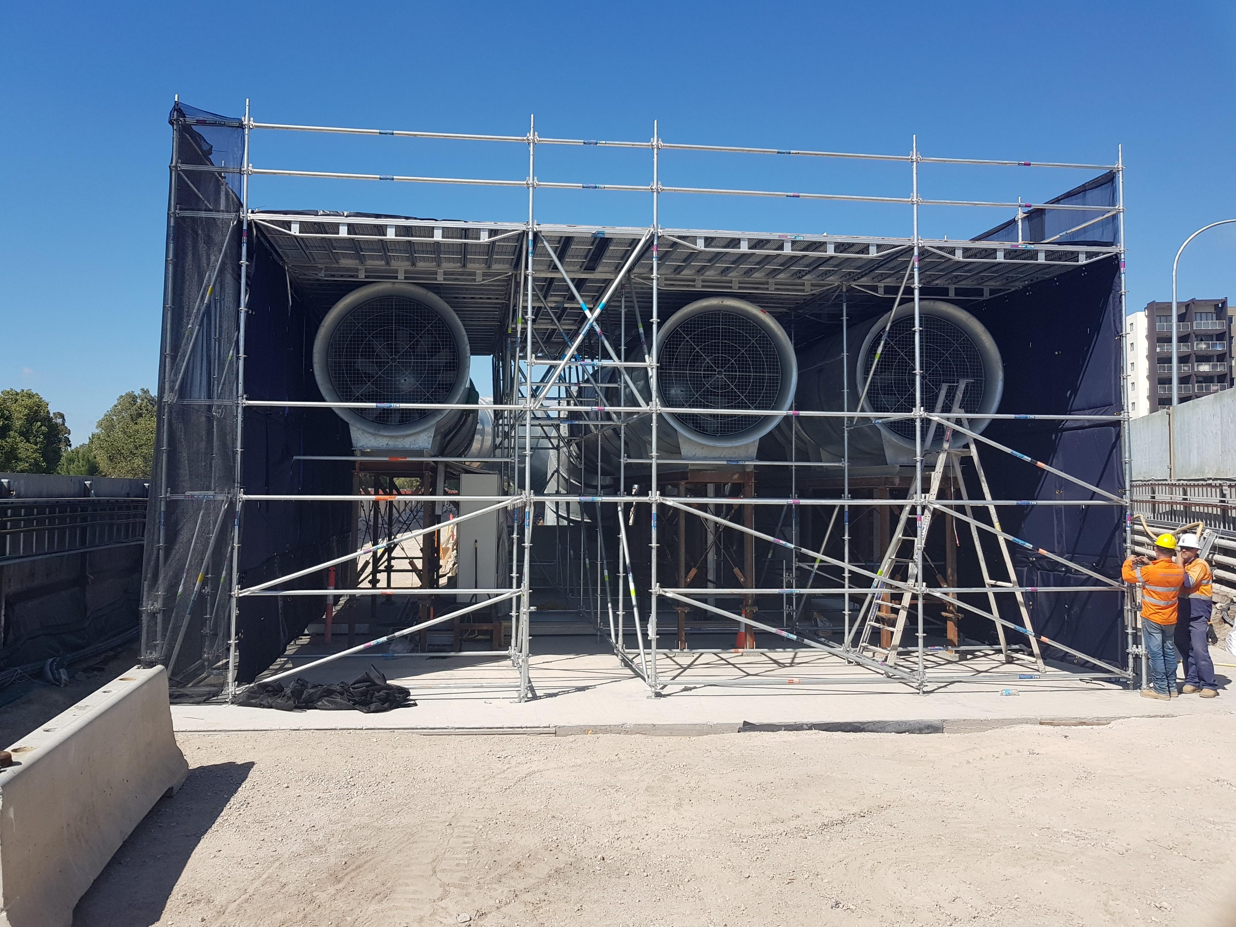 Clever Scaff System Keeps Tunnel Construction on the Low Down